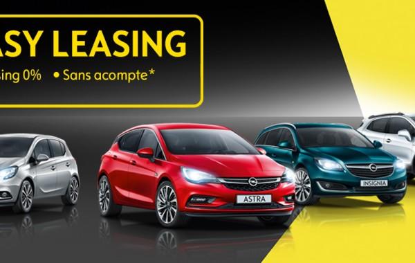 Leasing Opel 0 %